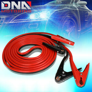 20 600amp Car Battery Booster Cable 2 Gauge Emergency Power Jumper Heavy Duty