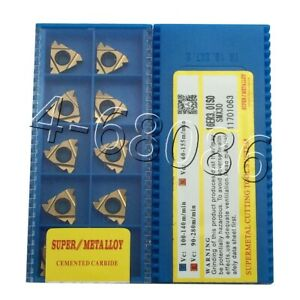 20pcs 16er 3 0iso Smx30 Carbide Inserts Threading Inserts For Steel High Quality