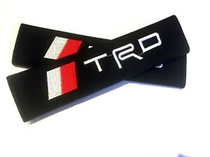 Seat Belt Cover Pad For Trd Toyota Lexus 86 Frs Is Es Supra Gs Celica