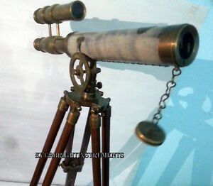 Brass Telescope Antique Finish Telescope With Tripod Stand Christmas Offer