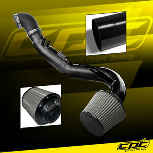 For 06 11 Honda Civic Si 2 0l 4cyl Black Cold Air Intake Stainless Filter