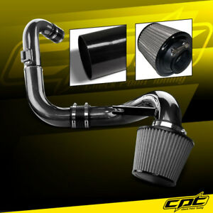 For 06 11 Honda Civic Dx Lx Ex 1 8l Black Cold Air Intake Stainless Air Filter