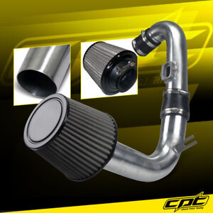 For 11 15 Chevy Cruze Turbo 1 4l 4cyl Polish Cold Air Intake Stainless Filter
