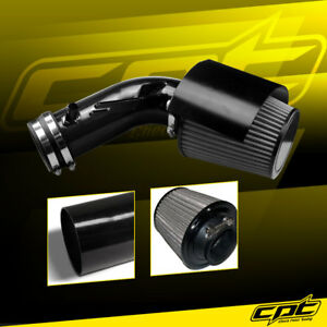 For 09 14 Maxima 3 5l V6 Black Cold Air Intake Stainless Steel Air Filter
