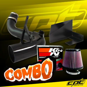 11 14 Optima Turbo 2 0l 4cyl Black Cold Air Intake K N Air Filter
