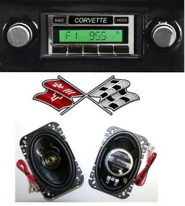 1977 82 Corvette Am Fm Stereo Radio Speakers Shows Am Dial When Off 230df