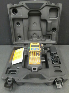 Dymo Rhino 5200 Industrial Label Thermal Printer W Carrying Case