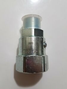 1 Parker Ps Series Hydraulic Hose Fitting Swivel 11 1 2 Tpi Steel New