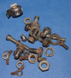1957 1958 1959 1960 1961 1962 Chevrolet Corvette Fuel Injection Bolts Original