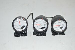 Jdm Defi Stepmaster Gauge Set oil Temp Water Temp Oil Pressure