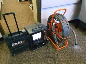 Gen eye 3 Iii Pipe Inspection Sewer Color Camera Drain Ridgid Seesnake 300 Vgc