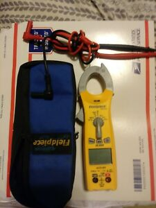 Fieldpiece Sc260 True Rms Compact Digital Clamp Meter Great Condition