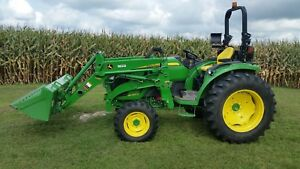John Deere 4066r With H180 Sl Loader