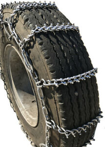 Snow Chains 235 70r16lt 235 70 16lt Studded Cam Tire Chains Set Of 2