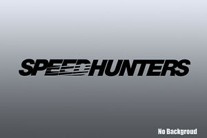 Speedhunters Windshield Decal Car Sticker Banner Graphics Oracal Fast Delivery