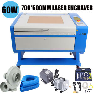 60w Co2 Laser Engraving Cutting Machine 700x500mm Usb Interface High Precise