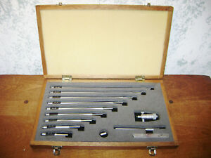Mitutoyo Id Inside Micrometer Set 2 12 Inches