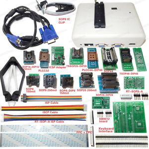 Original Rt809h Emmc nand Flash Programmer With Adapters Cable Set Emmc nand