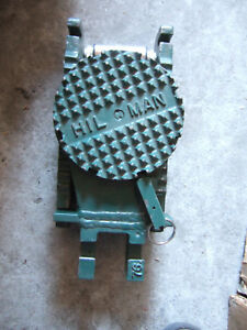 Hilman 10 Ton Roller Swivel Locking Top Usa Excellent Rigging Moving Equipment