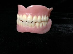 Dentures Upper Lower Real False Teeth Prop