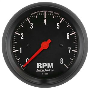 Autometer 2699 Z series In dash Electric Tachometer