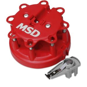 Msd Ignition 8482 Distributor Cap And Rotor Kit