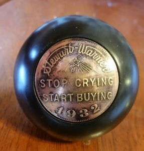 Stewart Warner Shift Knob Scta 1932 1933 1931 1929 1928 Hot Rat Rod