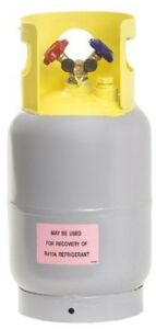 Flame King Refrigerant Recovery Cylinder Tank Reusable Dot Compliant Y val