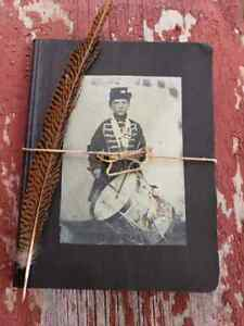 Primitive Americana Journal Civil War Drummer Boy