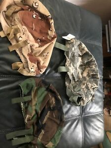 3 Different US Helmet Covers Size Small Medium Large $24.99