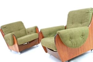 Mid Century Saddleback Sofa And Lounge Chairs By G Plan