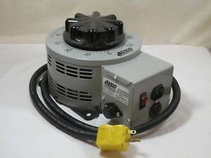 Staco 3pn2210b Variable Transformer 120v Input 0 140vac Output 22a Works Fine