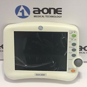 Ge Dash 3000 Patient Monitor Color Lcd Screen Assembly 2002392 002