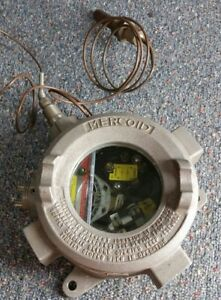 Nos Mercoid Control Switch Temperature Thermostat Explosion Proof