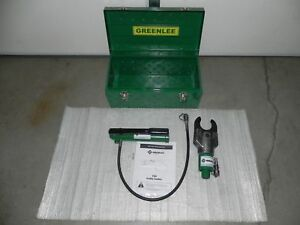 Greenlee 751 m2 Hydraulic Cable Cutter With 767 Pump Case 746 7310 7304 750