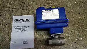 New Bi torq Motorized Boiler Blowdown Valve 1 Is 2p10200ea4