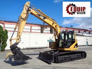 2006 Caterpillar 314c Lcr Hydraulic Crawler Excavator Dozer Blade Low Hours