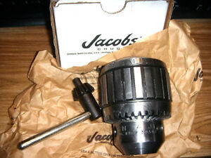 Jacobs 30233 Drill Chuck Keyed Steel 1 8 3 4 In 4jt