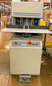 Challenge 3 Drill Spindle Head Paper Drill Ms 5 Foot Pedal operational