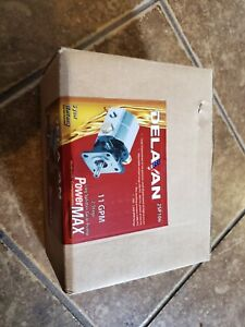 Delavan Powermax 2 stage 11 Gpm Hydraulic Log Splitter Gear Pump Ships Free