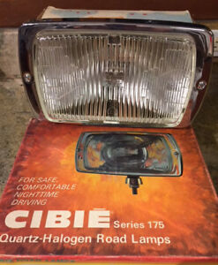 Cibie 175 Clear Fog Lamps Pair W Covers And Wiring Harness