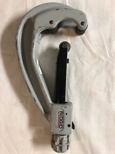 Ridgid 154 Quick Acting Tubing Cutter 1 7 8 4 1 2 O d Parts Used