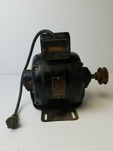 Antique Vintage Ge General Electric Ac Motor 1 4 Hp 110v Type Kx 5kx53aa7 Works