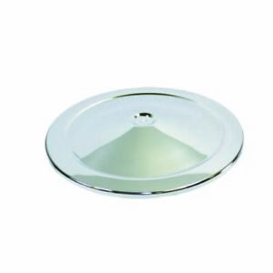 Specialty Chrome 7112a 14 Round Chrome Steel High Dome Air Cleaner Lid
