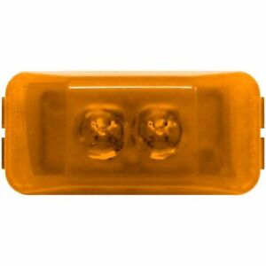 Peterson Manufacturing 153a 2 Diode Led Clearance Side Marker Light Amber