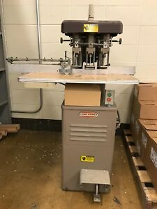 Challenge 3 Drill Spindle Head Paper Drill Baf Foot Pedal operational
