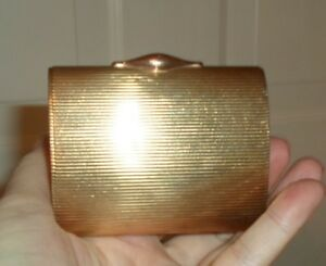 9 Kt Gold Vintage Business Card Holder Mini Clutch Purse Evening Bag 100 Grams