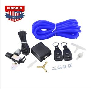 Usa Wireless Remote Vacuum Exhaust Cutout Valve Controller Set With 2 Remotes