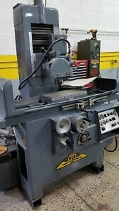 Elb Hyd Surface Grinder 10 X 20 Capacity Runs Very Good Clean Good
