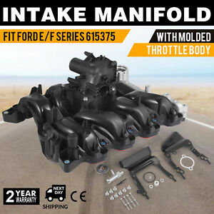 Engine Intake Manifold Upper 615 375 For Ford F 150 4 6l 7l3z 9424 f